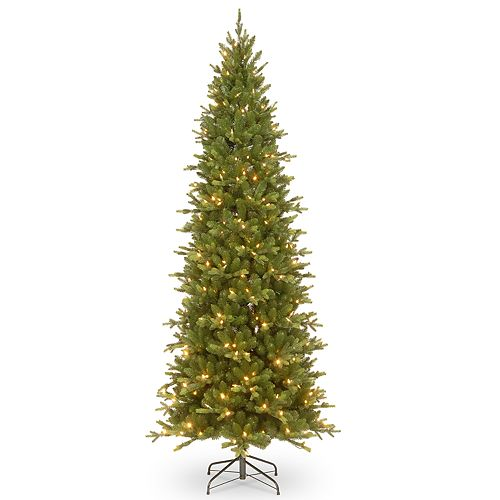National Tree Company 7.5-ft. Pre-Lit Slim Ashland Spruce Artificial Christmas Tree