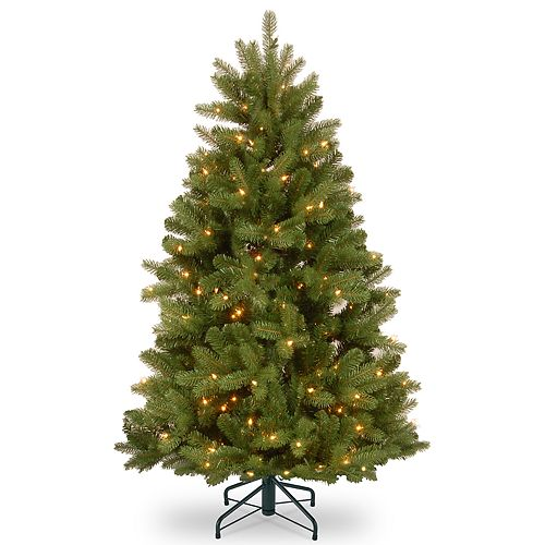 National Tree Company 4.5-ft. LED Newberry Spruce Artificial Christmas Tree