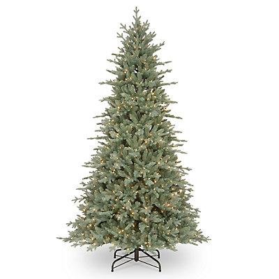National Tree Company 7.5-ft. Pre-Lit Buckingham Blue Spruce Artificial Christmas Tree