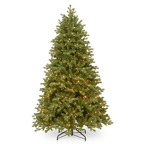 National Tree Company 7.5-ft. Pre-Lit Bosworth Spruce Artificial Christmas Tree