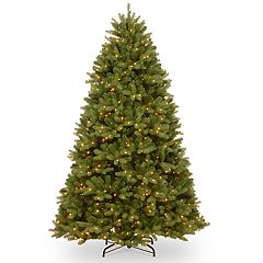 National Tree Company 6.5-ft. Pre-Lit Newberry Spruce Artificial Christmas Tree