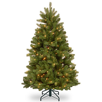 National Tree Company 4.5-ft. Pre-Lit Newberry Spruce Artificial Christmas Tree