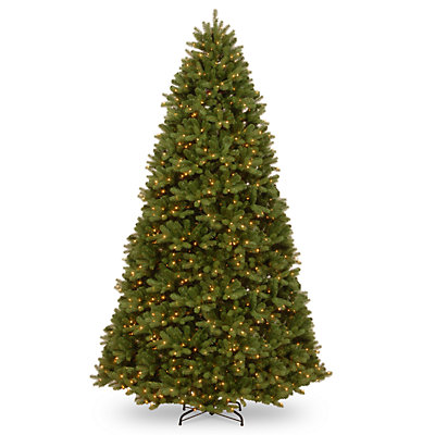 National Tree Company 10-ft. LED Newberry Spruce Artificial Christmas Tree