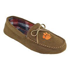 Men's Clemson Tigers Moccasin Slippers