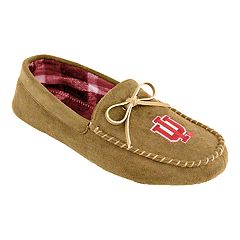Men's Indiana Hoosiers Moccasin Slippers