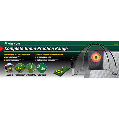 JEF World of Golf Complete Home Practice Range