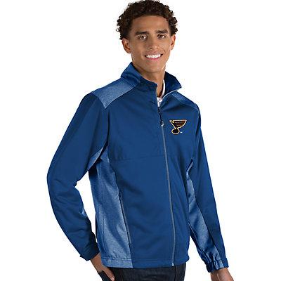 Antigua Men's Revolve St. Louis Blues Full Zip Jacket