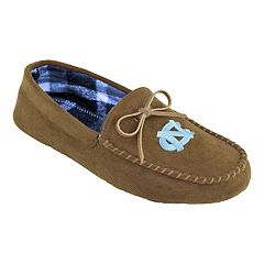 Men's North Carolina Tar Heels Moccasin Slippers
