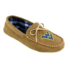 Men's West Virginia Mountaineers Moccasin Slippers