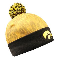 Adult Iowa Hawkeyes Beanie