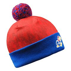 Adult Kansas Jayhawks Light Up Beanie