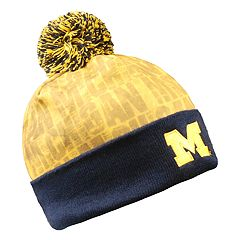Adult Michigan Wolverines Light Up Beanie