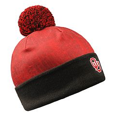 Adult Oklahoma Sooners Light Up Beanie