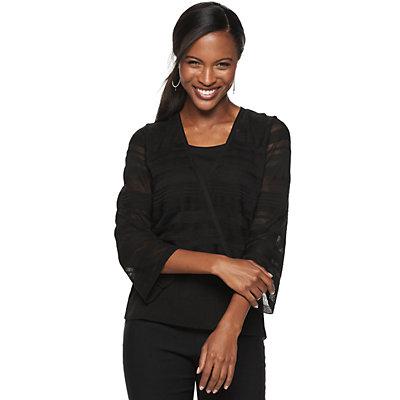 Women's Apt. 9® Flare Sleeve Surplice Top
