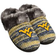 Women's West Virginia Mountaineers Peak Slide Slippers