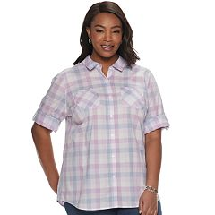 Plus Size Croft & Barrow® Core Shirt