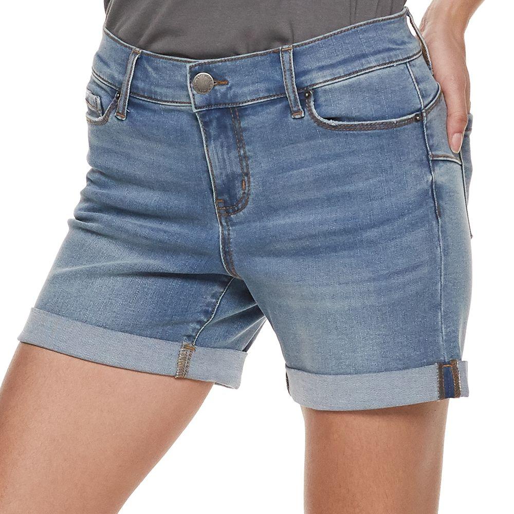Women's Juicy Couture  Flaunt It Midi Jean Shorts