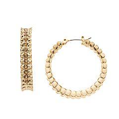 Napier Hoop Earrings