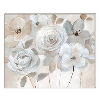 New View Gifts Floral Bunch Canvas Wall Art