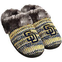 Women's San Diego Padres Peak Slide Slippers