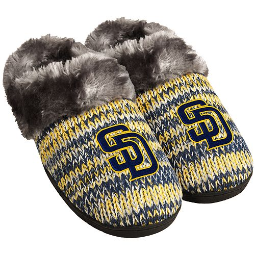 Women's San Diego Padres Peak Slide Slippers