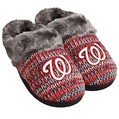 Women's Washington Nationals Peak Slide Slippers