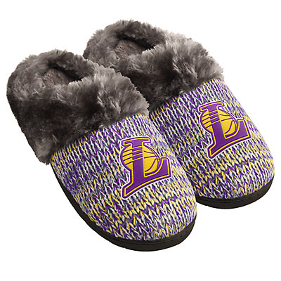 Women's Forever Collectibles Los Angeles Lakers Slide Slippers