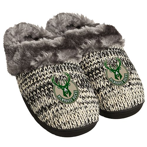 Women's Forever Collectibles Milwaukee Bucks Slide Slippers