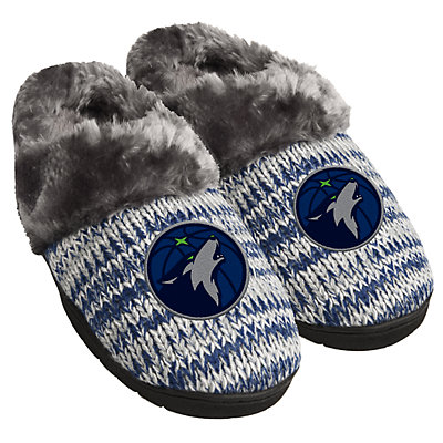 Women's Forever Collectibles Minnesota Timberwolves Slide Slippers