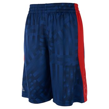 Boys 4-7x adidas USA Flag Athletic Shorts