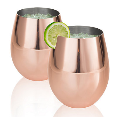 Artland Colton 17-oz. Copper Moscow Mule Set