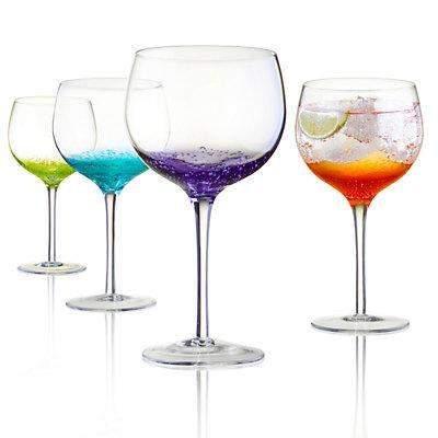 Artland Fizzy 4-piece Balloon Wine Glass Set