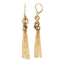 Dana Buchman Tassel Drop Earrings