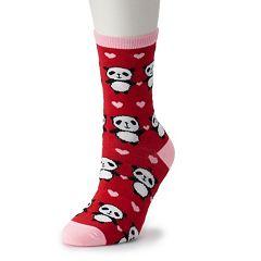 Women's SO® Novelty Crew Socks