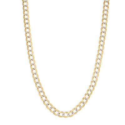 14K Gold Comfort Pave Necklace