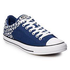 b43d137b5d6a Men s Converse Chuck Taylor All Star High Street Wordmark Sneakers. Navy  White
