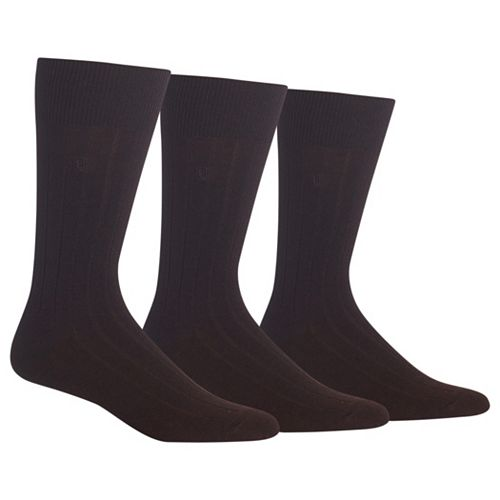 Men's Chaps 3-pk. Ribbed Dress Socks