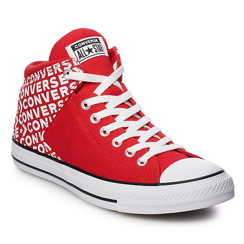 76f311715bd6 Men s Converse Chuck Taylor All Star High Street Hi Wordmark Sneakers