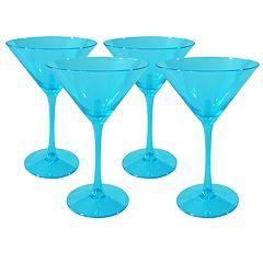 Artland Luster 4-pc. Martini Glass Set