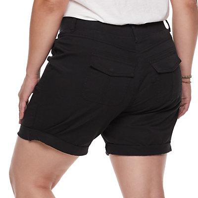 Plus Size SONOMA Goods for Life? Ultra Comfort Waistband Utility Bermuda Shorts