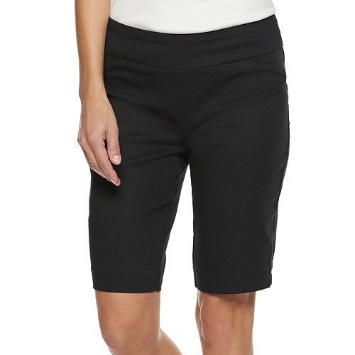 Women's Croft & Barrow® Effortless Stretch Pull-On Bermuda Shorts