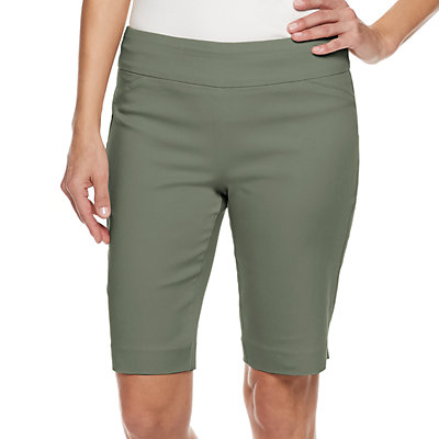 Women's Croft & Barrow® Effortless Stretch Pull-On Bermuda Shorts