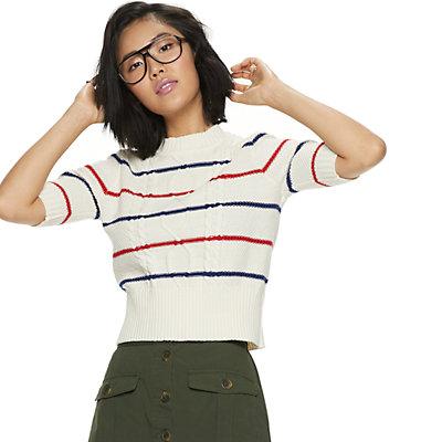 Women's POPSUGAR Elbow Sleeve Sweater