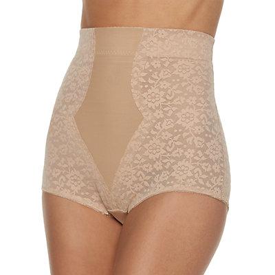 Women's Lunaire Firm Control High-Wasit Lace Brief 469-K