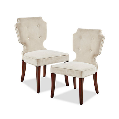 Madison Park Francis Dining Chair 2-piece Set