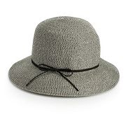 Women's SONOMA Goods for Life? Faux Suede Tie Cloche Hat