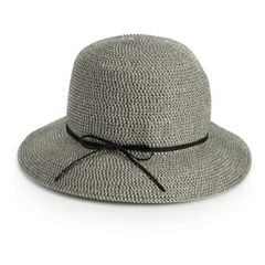 Women's SONOMA Goods for Life™ Faux Suede Tie Cloche Hat