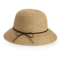 815cc48b979 Women s SONOMA Goods for Life™ Faux Suede Tie Cloche Hat