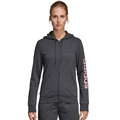 Women's adidas Essential Linear Full Zip Hoodie