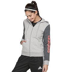 Women's adidas Essential Linear Full Zip Hoodie